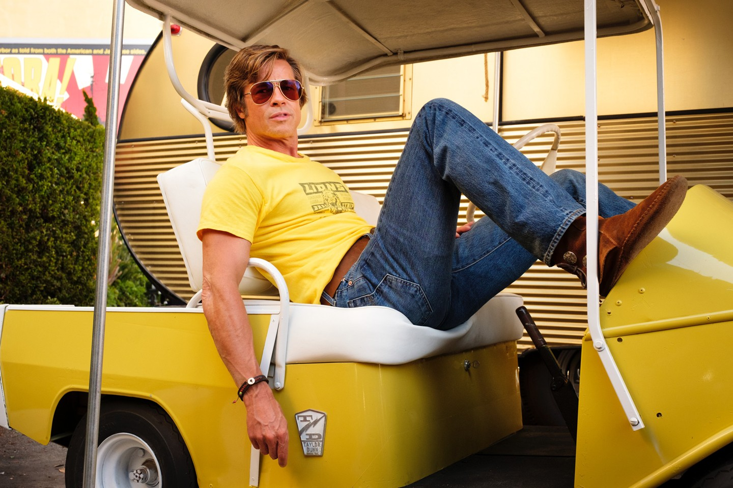 """Brad Pitt star in Columbia Pictures яnce Upon a Time in Hollywood"""" (Foto: Sony Pictures/Divulgação)"""