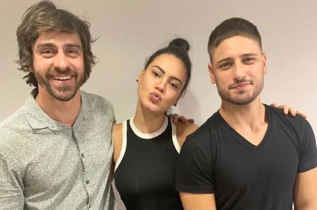 Felipe Abib, Letícia Lima e Daniel Rocha (Foto: Arquivo pessoal)