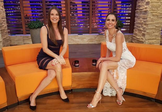 Letícia Birkheuer e Luciana Gimenez (Foto: Divulgação/RedeTV!)