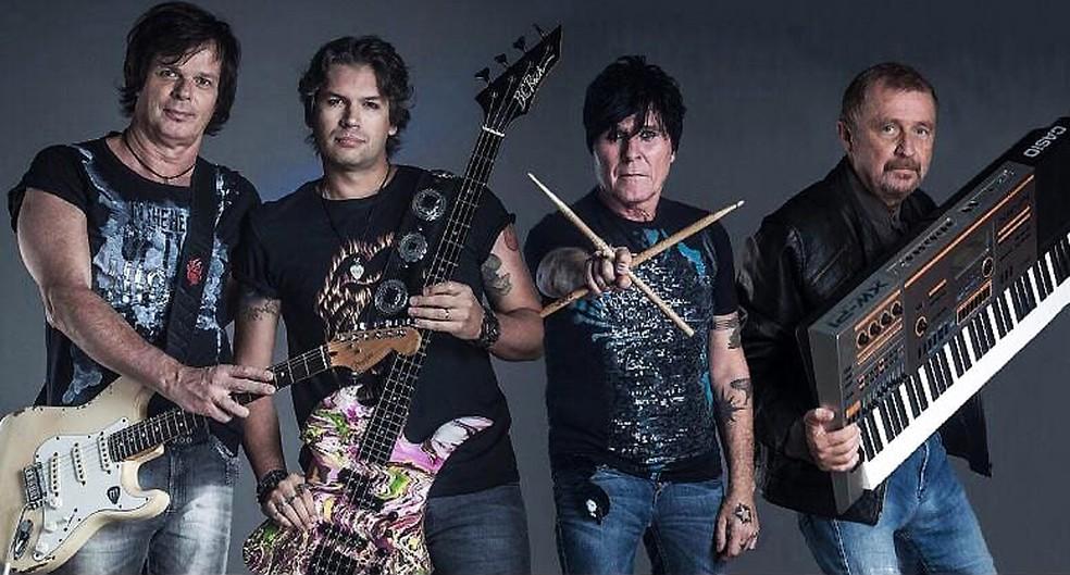 Banda RPM em foto oficial com a formação anunciada em junho de 2018 — Foto: Divulgação