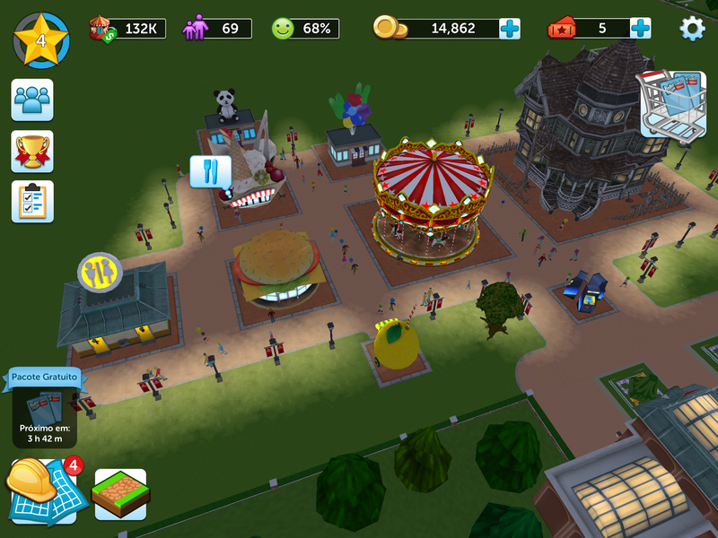 RollerCoaster Tycoon Touch | Jogos | Download | TechTudo