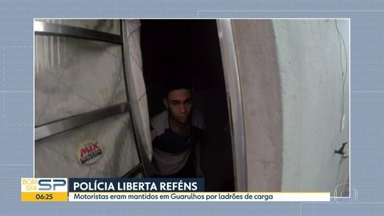 Polícia estoura cativeiro em Guarulhos