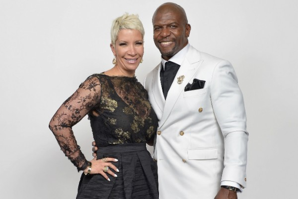 Rebecca King e Terry Crews (Foto: Getty Images)