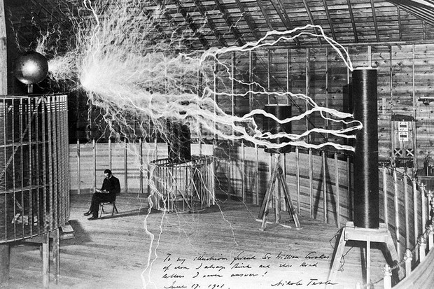Nikola Tesla (Foto: Dickenson V. Alley / Wellcome Collection gallery)