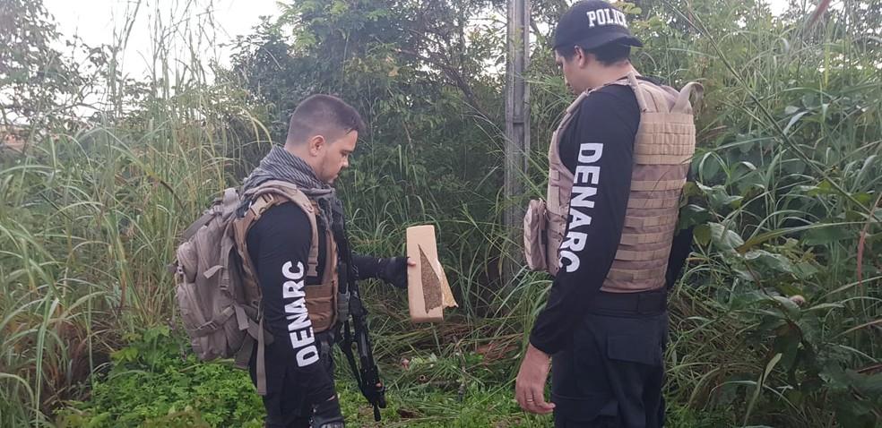 Polícia Civil cumpre mandados em três estados — Foto: Wherbert Araújo/SSP/Divulgação
