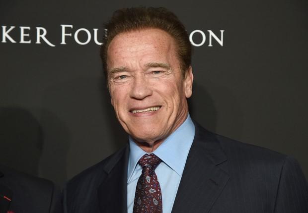 Arnold Schwarzenegger é ator, empresário e político, inclusive já foi governador do estado da Califórnia, nos EUA (Foto: Michael Kovac/Getty Images )