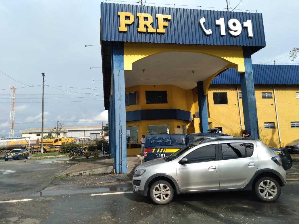Veículo de locadora de SP é apreendido na BR-135 no Maranhão