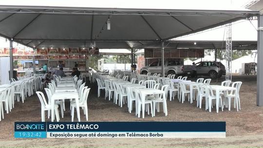 Exposição com shows segue até domingo em Telêmaco Borba
