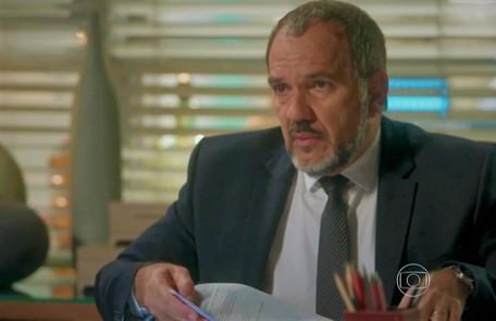 Na terça-feira (28), o exame de DNA comprova que Eliza é filha de Germano TV Globo