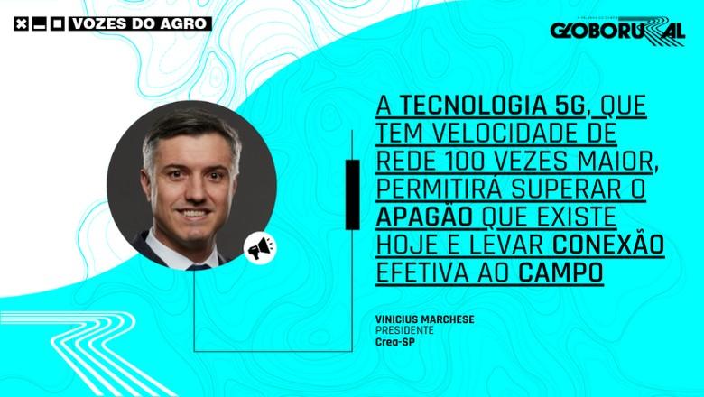 Vozes do Agro - 5G Vinicius Marchese (Foto: Estúdio de Criação)