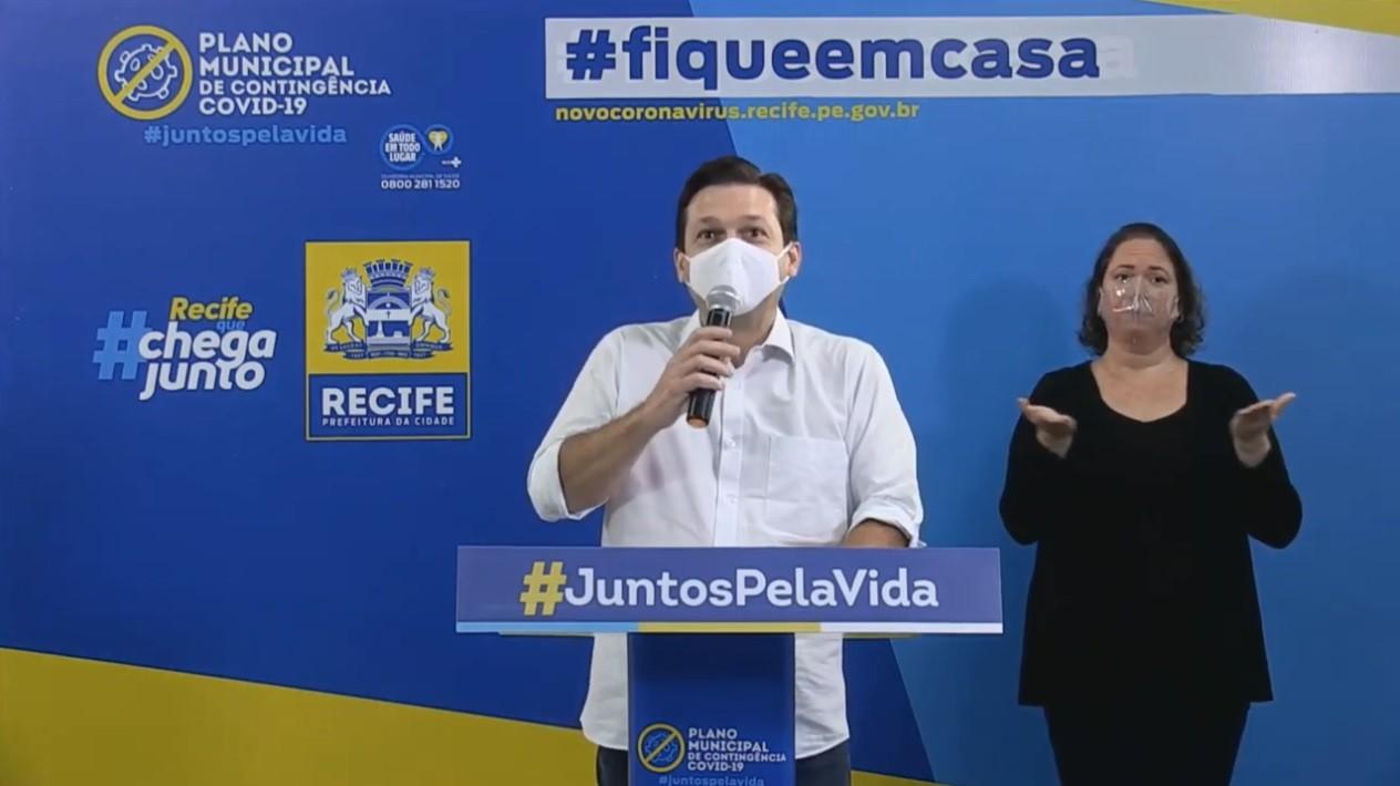 Recife abre mais 52 leitos de UTI para pacientes com Covid-19 e anuncia exames domiciliares