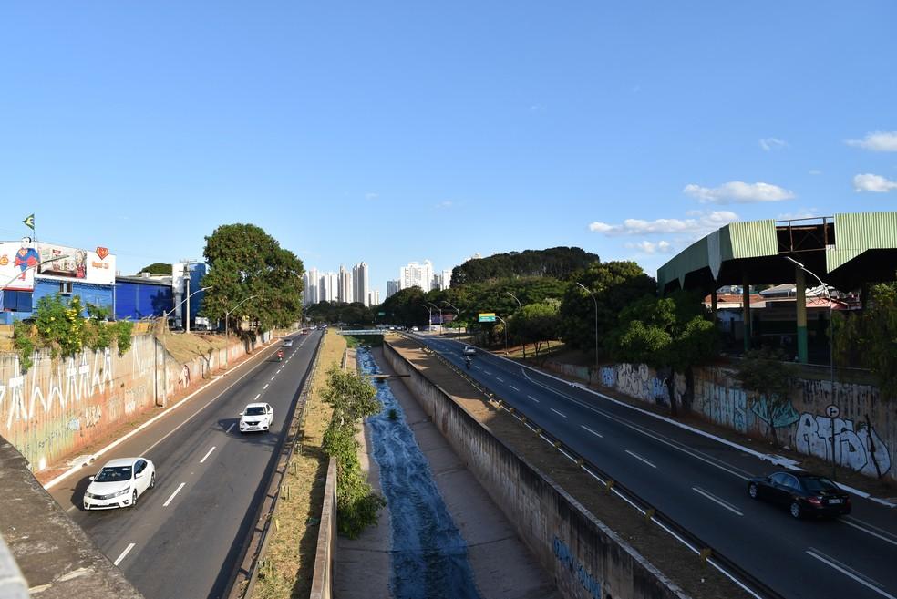 Marginal Botafogo será prolongada por mais 1,5 km — Foto: Vanessa Chaves/G1