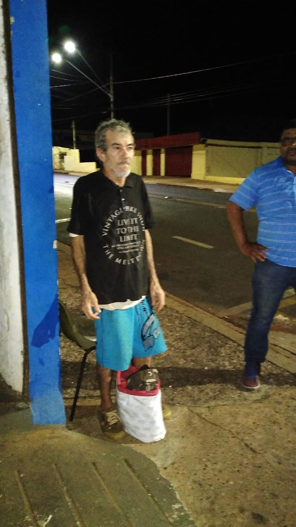 Foto tirada no bar em Barra Bonita circulou pelas redes sociais e chegou no sobrinho do seu Zé — Foto: Arquivo pessoal