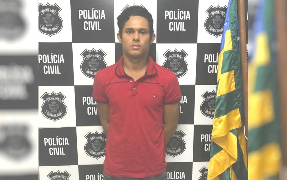 Jovem é preso suspeito de matar umbandista por trabalho espiritual que não deu certo — Foto: Polícia Civil/Divulgação