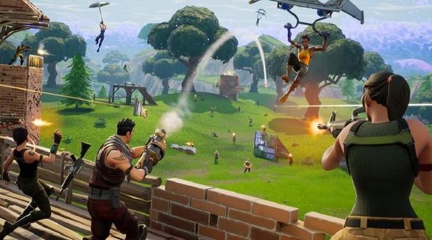 Fortnite é o game gratuito com maior número de jogadores do mundo (Foto: Divulgação)