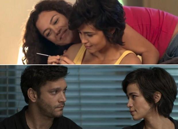 Selma (Carol Fazu), Maura (Nanda Costa) e Ionan (Armando Babaioff) (Foto: Reprodução)