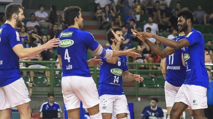 Cruzeiro e Minas vencem e decidem título do Mineiro de vôlei neste sábado  36bea292b1456