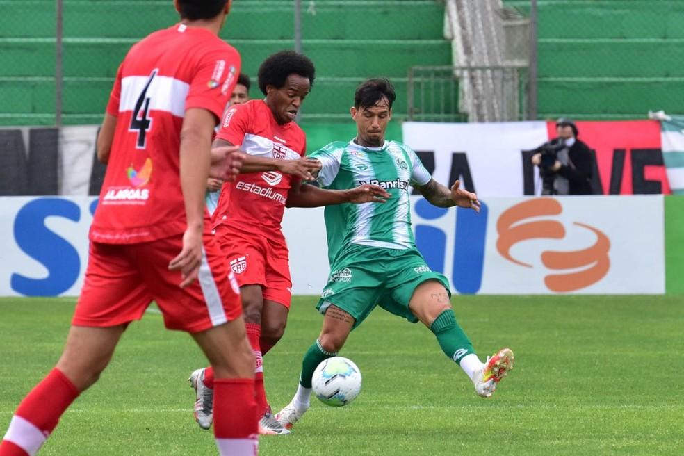 CRB vai precisar vencer o Juventude por mais de um gol — Foto: Arthur Dallegrave/E.C.Juventude