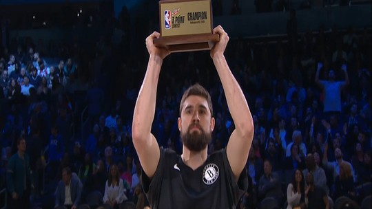 Joe Harris supera Stephen Curry e leva o Torneio de 3 Pontos do All-Star Game