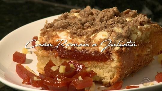 JA: confira a receita da Cuca Romeu e Julieta