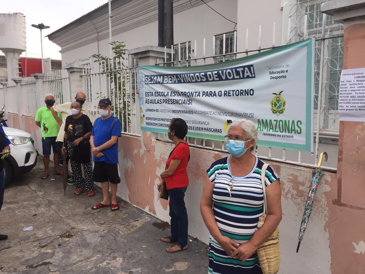 Segundo turno das eleições 2020 em Manaus; FOTOS