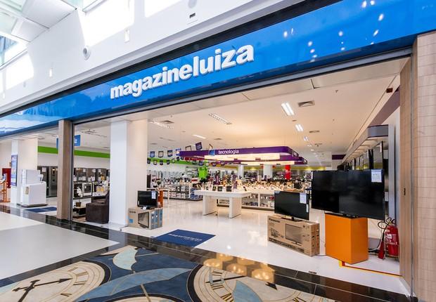 Fachada de loja do Magazine Luiza no Boulevard Shopping (Foto: Divulgação)