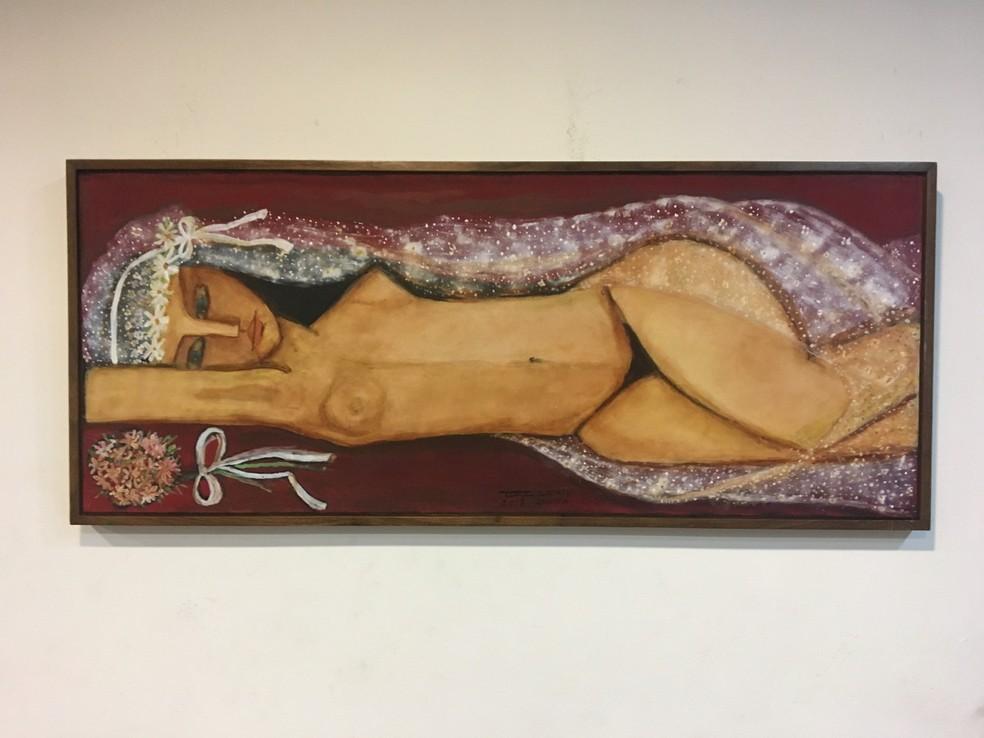 Obras de artistas como Tereza Costa Rêgo compõem a mostra — Foto: Reprodução/Tereza Costa Rêgo