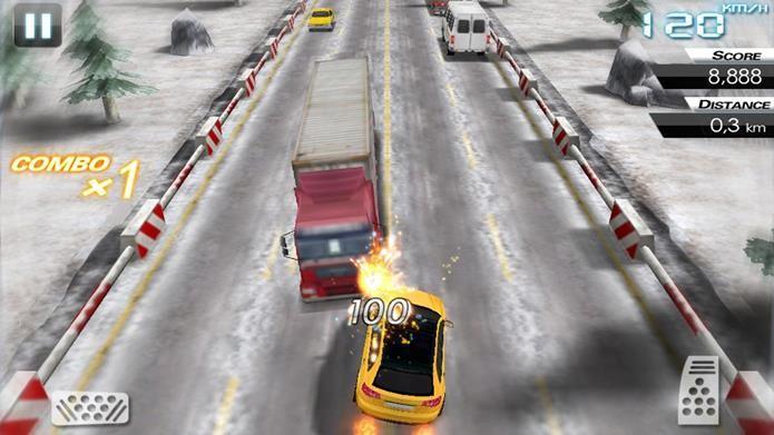 Demonstre suas habilidades em um jogo de direção perigosa (Foto: Divulgação)