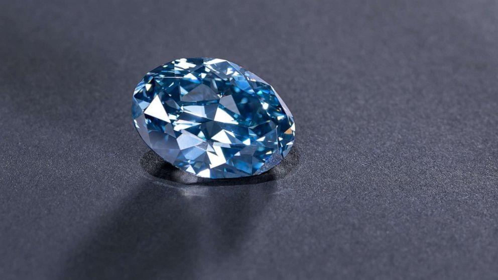 Okavango Diamond Company (Foto: Um diamante raro e azulado foi descoberto em Botswana )