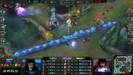Keyd bate INTZ e dorme na liderança do CBLoL; ProGaming derrota RED