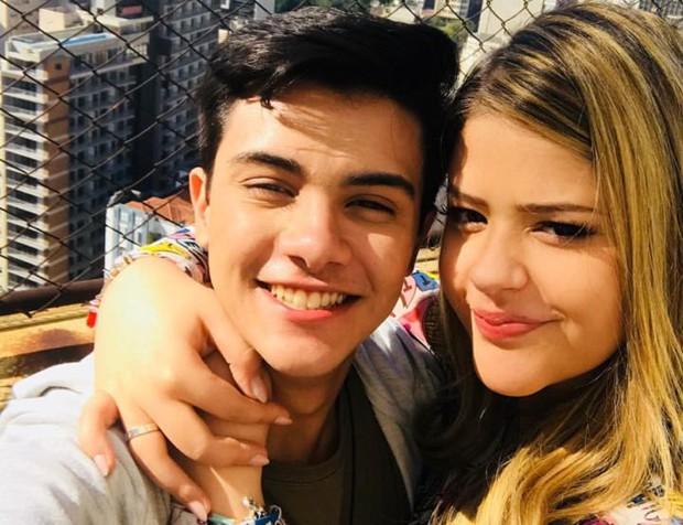 Victor Aguiar e Maria Cavalcante (Foto: Reprodução/Instagram)