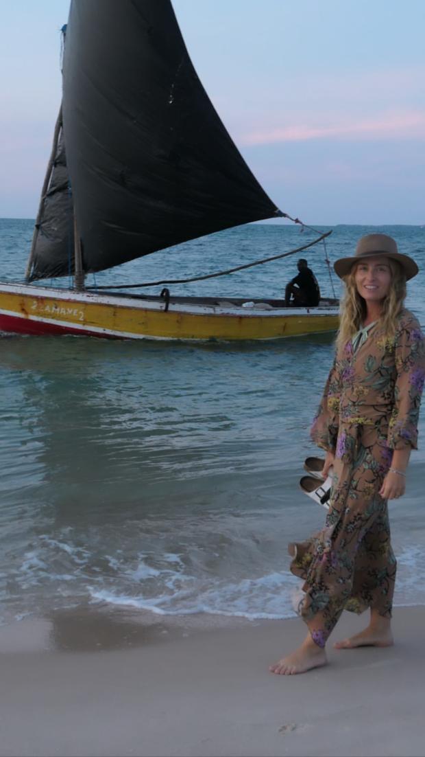 Angélica e Luciano Huck mostram fotos de viagem à África (Foto: Reprodução/Instagram)