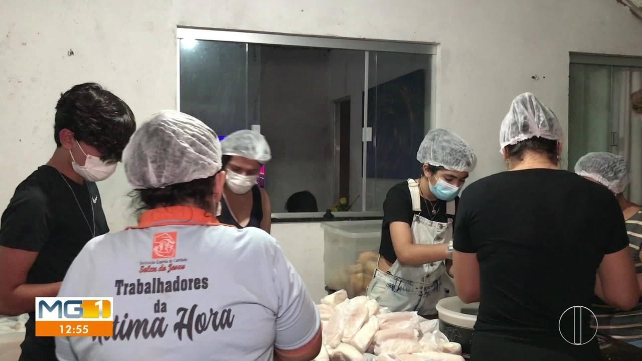 Projeto solidário ajuda famílias em situação de rua em Montes Claros