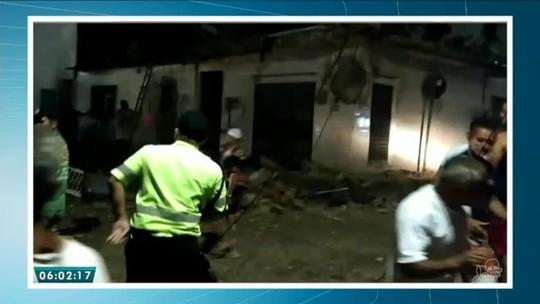 Explosão em residência deixa idosos feridos em São Benedito, no Ceará