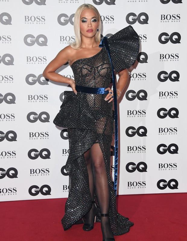 Rita Ora no evento GQ Men of The Year 2018 (Foto: Getty Images)