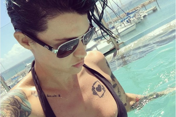 A atriz Ruby Rose (Foto: Instagram)