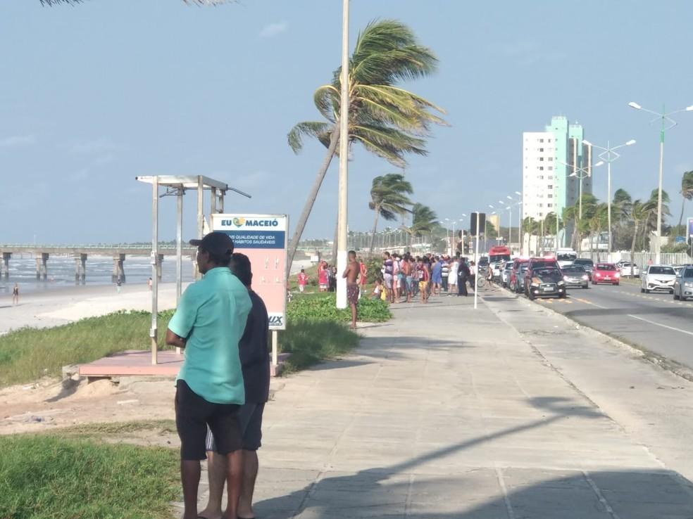 Adolescente se afogou na Praia do Sobral — Foto: Arquivo Pessoal/Jordan Morais