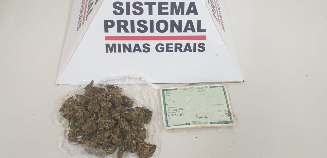 Visitante é presa ao tentar entrar com maconha no ânus em Penitenciária de Muriaé - Notícias - Plantão Diário