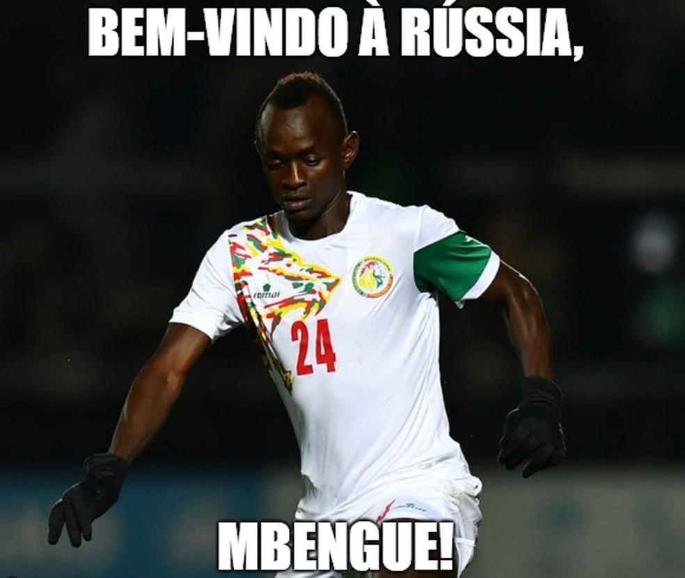 Mbengue foi chamado pela seleção senegalesa (Foto: GloboEsporte.com)