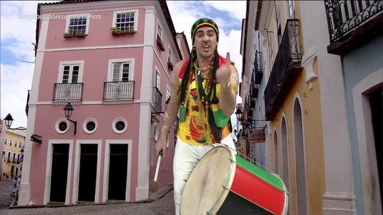 Soy Loco por Copa América: Adnet imita Galvão Bueno e mostra protesto do Olodum