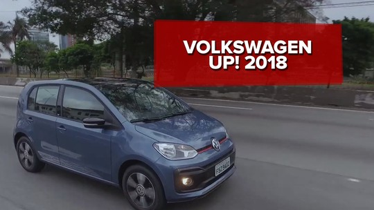 Volkswagen Up! 2018: primeiras impressões