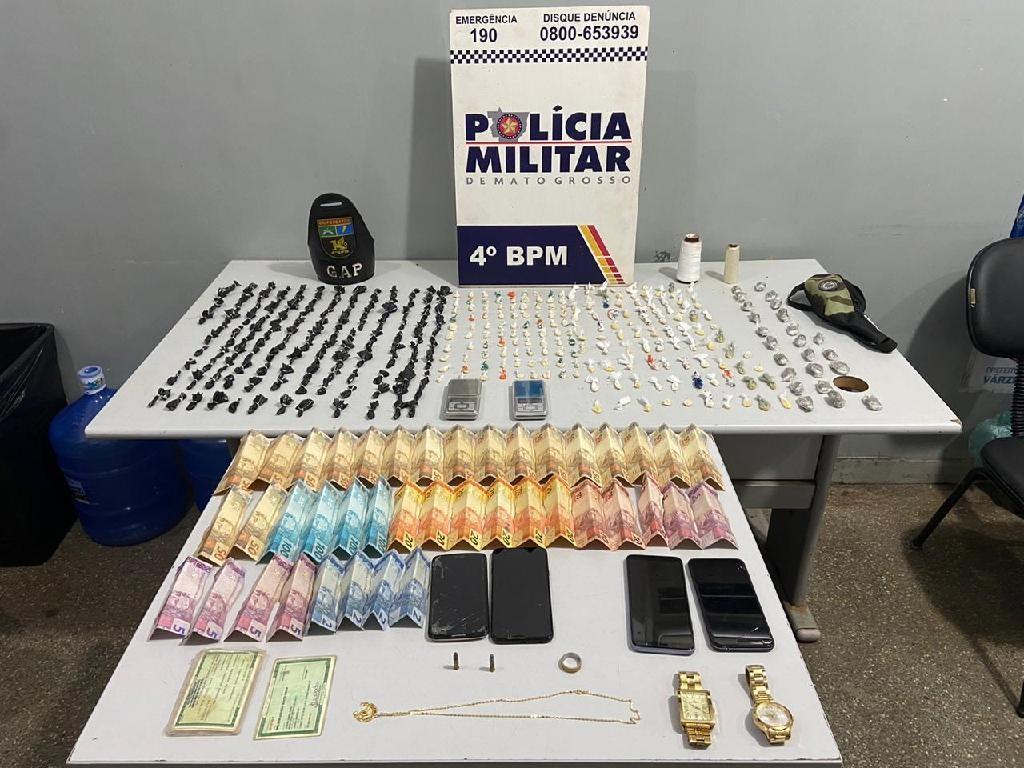 Quadrilha suspeita de tráfico de drogas que 'aterrorizava' moradores para não denunciarem crime é presa em MT