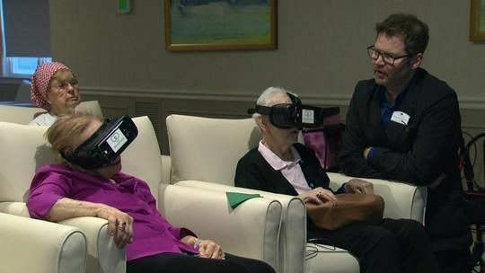 Realidade virtual leva idosos a locais nunca antes explorados por eles