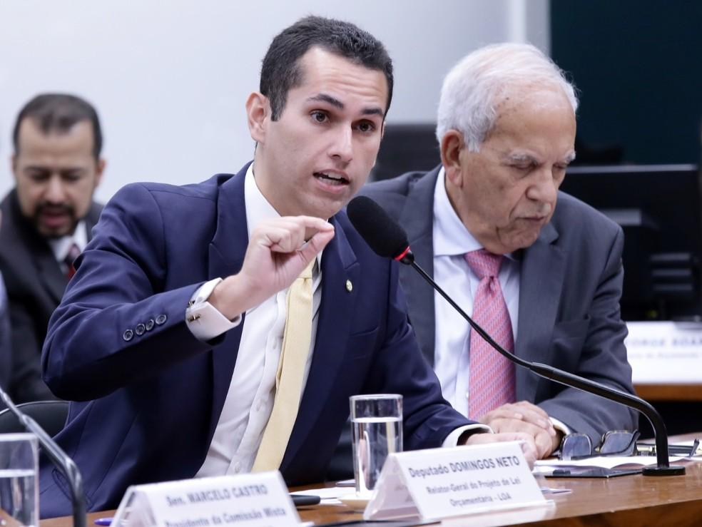 O deputado Domingos Neto, relator do Orçamento de 2020 — Foto: Cleia Viana/Câmara dos Deputados