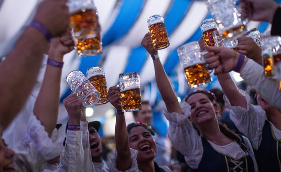 2ª São Paulo Oktoberfest terá mais de 75 rótulos de cervejas artesanais e 60 opções gastronômicas — Foto: Felipe Panfili/Divulgação