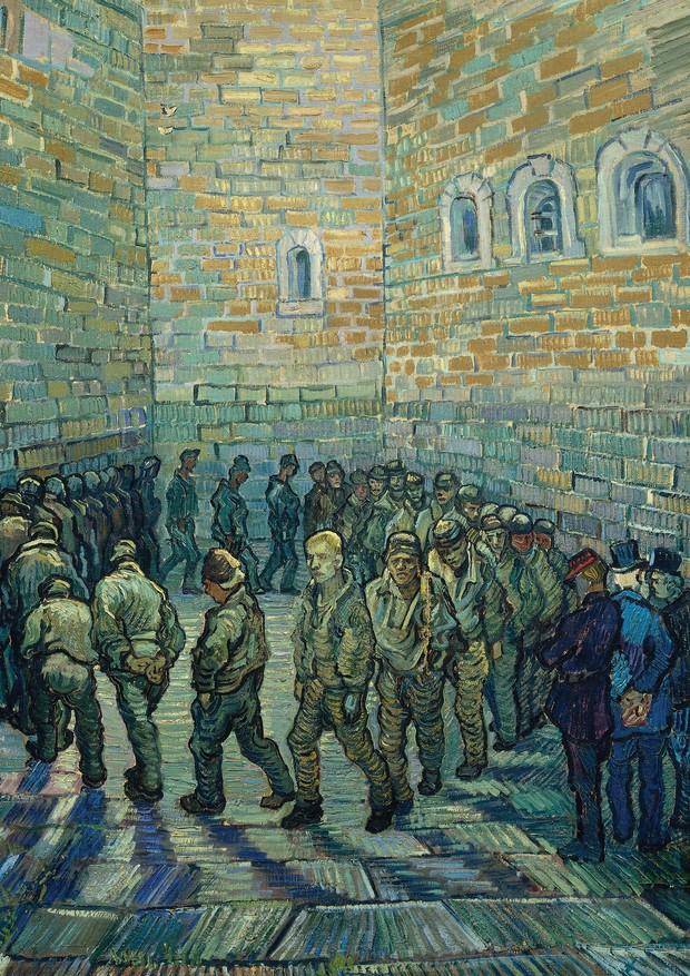 A Ronda dos Prisioneiros, 1890 (Foto: Divulgação)