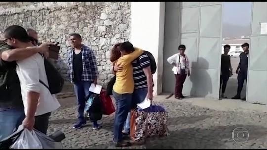 Brasileiros acusados de tráfico internacional saem da prisão em Cabo Verde, na África