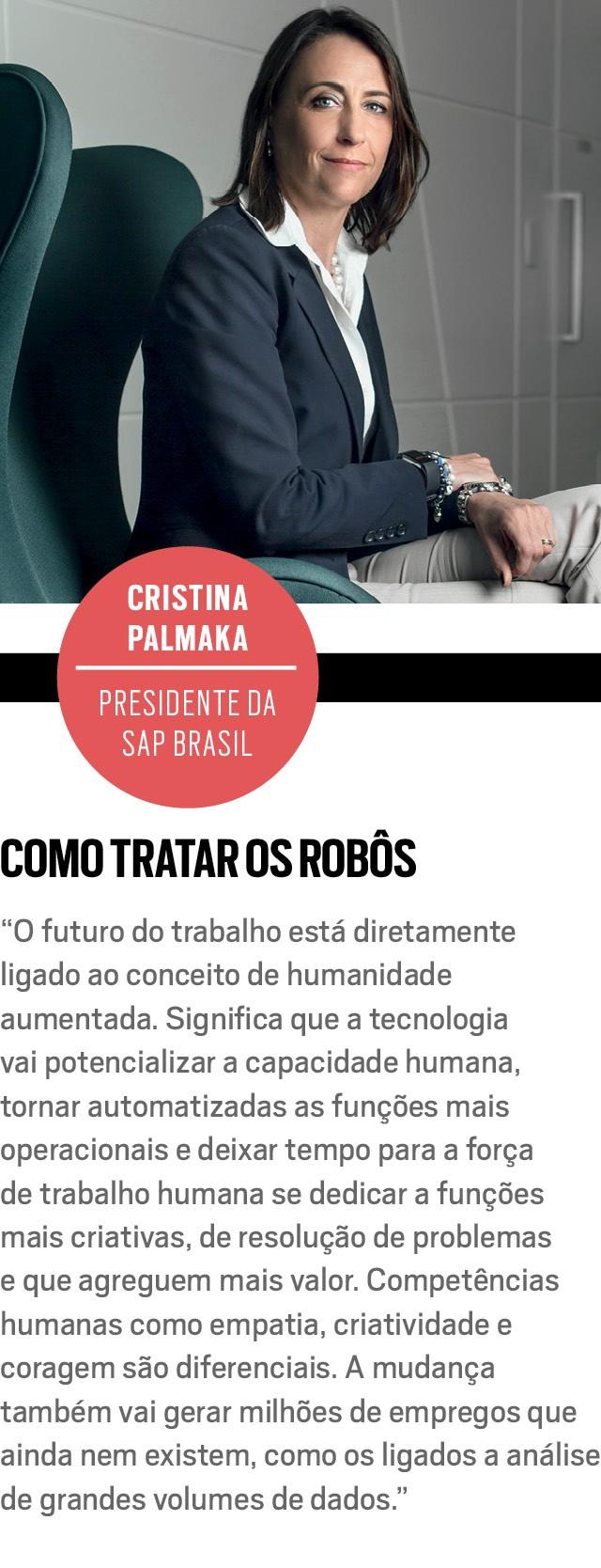 CRISTINA PALMAKA, presidente da SAP Brasil (Foto: Rogério Albuquerque)
