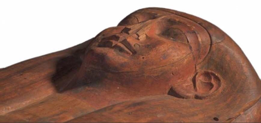 Múmia (Foto: Muse/ Reprodução)