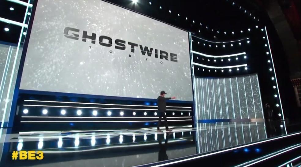Ghostwire Tokyo foi apresentado por Shinji Mikami, criador das franquias Resident Evil e The Evil Within — Foto: Reprodução/Bethesda